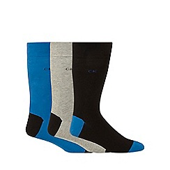 Calvin Klein - Pack of three assorted socks