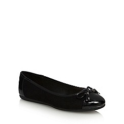 Good for the Sole - Black 'Georgia' wide fit pumps