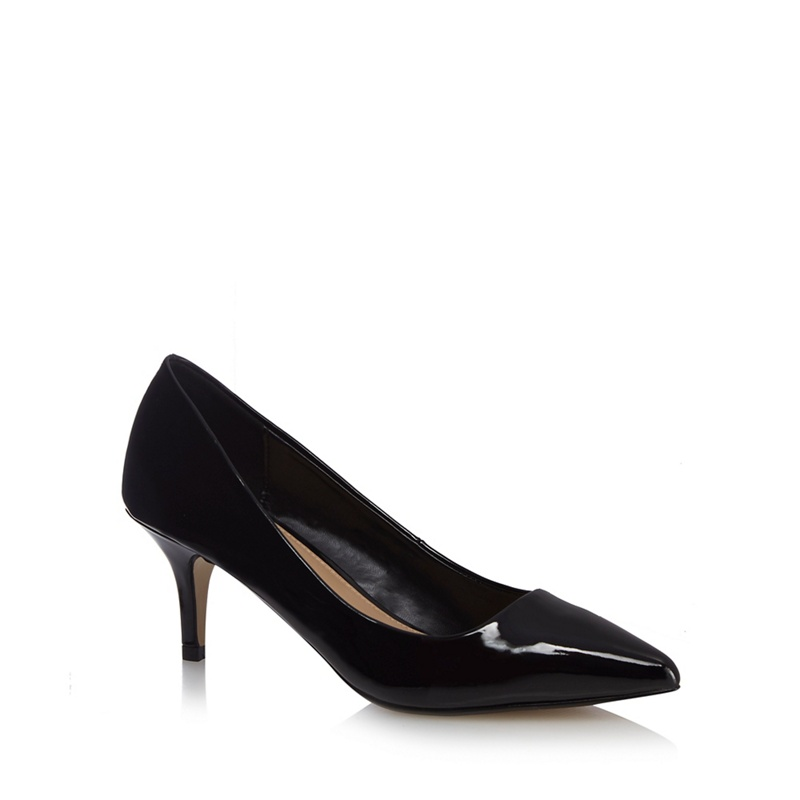 Debenhams Womens Black Court Shoes