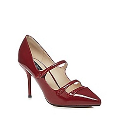 Principles by Ben de Lisi - Red patent 'barack' high stiletto heel pointed shoes