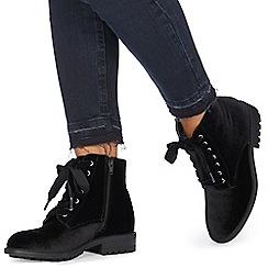 Faith - Black 'Brent' ankle boots