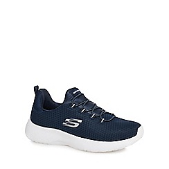 Skechers - Navy 'Dynamight' trainers