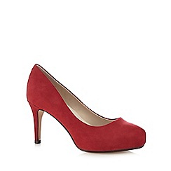 Good for the Sole - Dark red high court shoes
