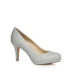 Debut - Silver 'Dalya' glitter high court