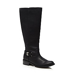 Good for the Sole - Black calf length boots