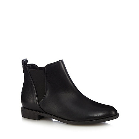 herring black chelsea boots debenhams