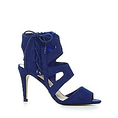 Red Herring - Blue caged high sandals