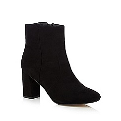 The Collection - Black mid-length boots