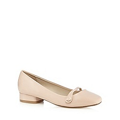 The Collection - Light pink low heel shoes