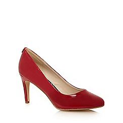 Principles by Ben de Lisi - Red patent high court shoes