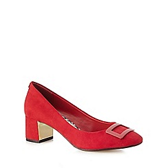 Principles by Ben de Lisi - Red low heel court shoes