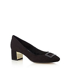 Principles by Ben de Lisi - Black low heel court shoes