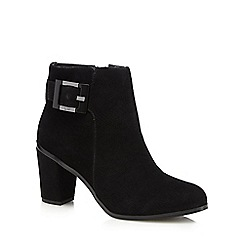 Principles by Ben de Lisi - Black textured ankle boots