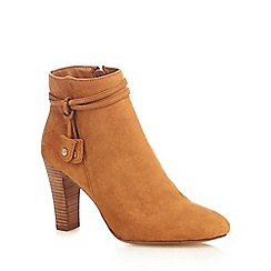 Principles by Ben de Lisi - Tan high ankle boots
