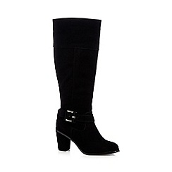 Principles by Ben de Lisi - Black 'Beth' buckle knee high boots