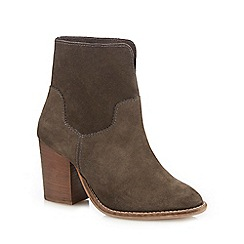 Nine by Savannah Miller - Dark grey suede ankle boots