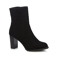 Nine by Savannah Miller - Black 'Serenity' calf length boots