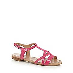 The Collection - Pink Capri slingback sandals