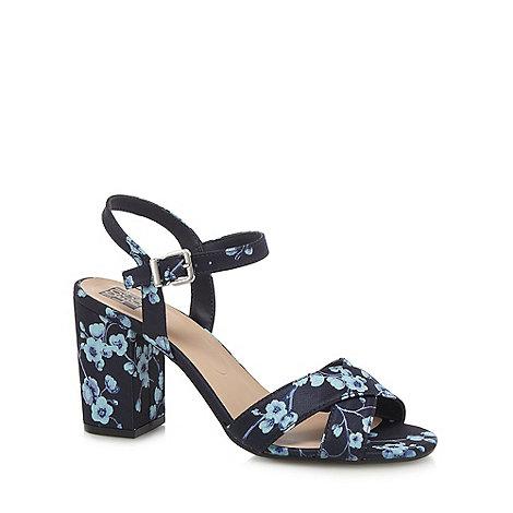 Debenhams Nevy Block Heel Shoes