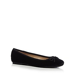 The Collection - Black 'Ciara' ballet pumps