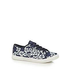 Mantaray - Navy 'Mary' trainers