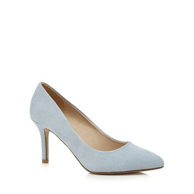 herring light blue high heel pointed shoes debenhams