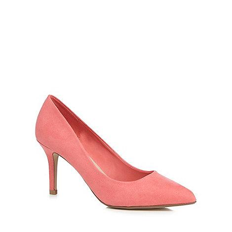 herring coral high stiletto heel pointed shoes debenhams
