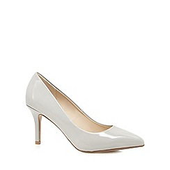 Red Herring - Grey pointed high court shoes