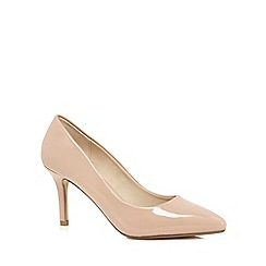 Red Herring - Natural pointed high court shoes