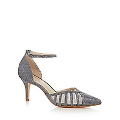 Debut - Silver 'Danica' stiletto heel pointed shoes