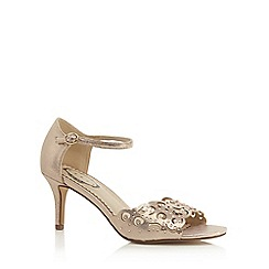 Debut - Light pink diamante 'Dolly' high heel sandals