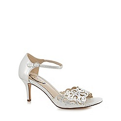 Debut - Silver diamante 'Dolly' high heel sandals