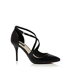 Principles by Ben de Lisi - Black patent 'Belinda' high stiletto heel pointed toe shoes