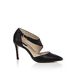 Principles by Ben de Lisi - Black asymmetric strap high court shoes