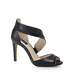 Principles by Ben de Lisi - Navy 'Bunny' high stiletto heel peep toe sandals