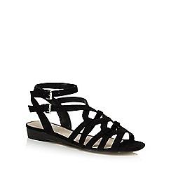 Nine by Savannah Miller - Black 'Sunny' gladiator sandals