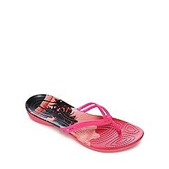 Crocs - Pink 'Isabella' flip flops
