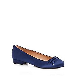 Call It Spring - Blue satin 'Desarro' pumps