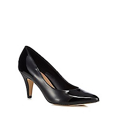Call It Spring - Black 'Unini' high stiletto heel court shoes