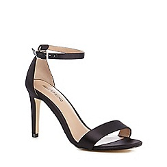 Call It Spring - Black 'Ahlberg' high stiletto heel ankle strap sandals