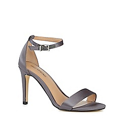 Call It Spring - Grey 'Ahlberg' high stiletto heel ankle strap sandals