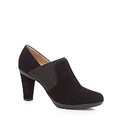 Geox - Black 'Inspiration' high block heel shoe boots