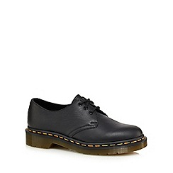 Dr Martens - Black leather '1461' lace up shoes