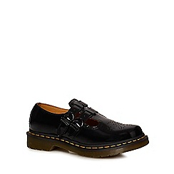 Dr Martens - Black leather 'Lamper' mary Janes