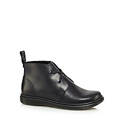 Dr Martens - Black leather 'Cynthia' desert boots