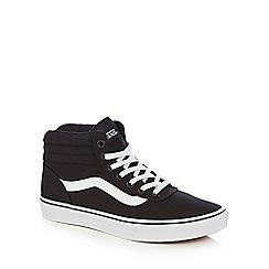 Vans - Black 'Maddie' high-top trainers