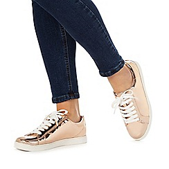 Faith - Rose gold 'Kandy' trainers