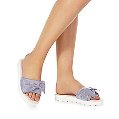 Faith - Light blue 'Jackie' sliders