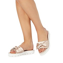 Faith - Pink 'Jackie' sliders