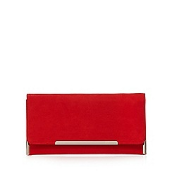 Faith - Red 'Peggy' clutch bag